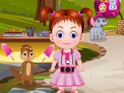赤ちゃんエマ動物園アドベンチャー