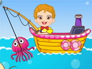 Play Baby Fishing Games
