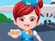 Play Baby Hazel Air Hostess Dressup