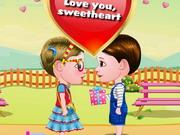 ベビーヘーゼルそしてリアムバレンタインデー