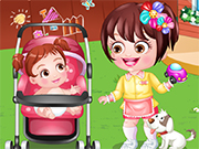 Play Baby Hazel as Babysitter