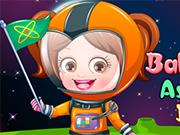 ベビーヘーゼル宇宙飛行士は、ドレスアップ