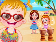 Play Baby Hazel Beach Party