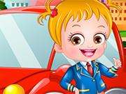 ベビーヘーゼルお抱え運転手のドレスアップ