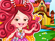 ベビーヘーゼルチョコレートの妖精は、ドレスアップ