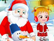 赤ちゃんヘーゼルクリスマスサプライズ