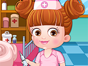 Play Baby Hazel Doctor Dressup