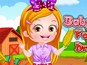 Play Baby Hazel Farmer Dressup