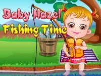 Play Baby Hazel Fishing Time