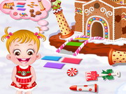Play Baby Hazel Gingerbread House