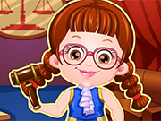 Play Baby Hazel Lawyer Dressup