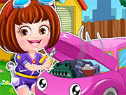 Play Baby Hazel Mechanic Dressup