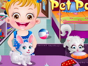 Play Baby Hazel Pet Party