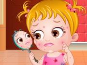 Play Baby Hazel Skin Trouble
