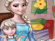 Play Baby Lessons With Elsa