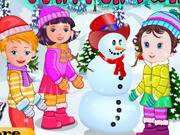 Play Baby Lisi Winter Party