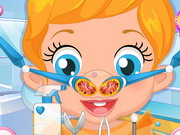Play Baby Lizzie Nose Doctor