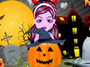 赤ちゃんモンスターハロウィンかぼちゃ