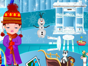 Play Baby Nora Frozen Rooms Cleaning