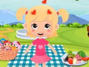 ベビーピンクのピクニック時間