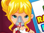 Play Baby Rapunzel Flu Care
