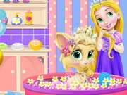 Play Baby Rapunzel Kitty Fun