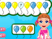 Play Baby Seven Happy Balloon Party