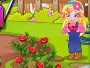赤ちゃんソフィア魔法の庭