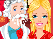Play Barbie And Ken Christmas Adventure