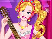Play Barbie and Rock