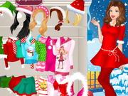 Play Barbie Christmas Night