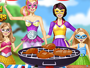 Play Barbie Cooking Wings