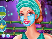 Play Barbie Fabulous Facial Makeover
