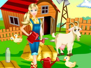 Play Barbie Farm Day
