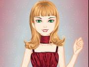 バービーフラワーガールのドレス