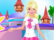 Play Barbie Going To School