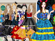 Play Barbie Halloween Dress Up