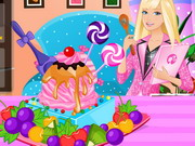 Play Barbie Ice Cream Decorating