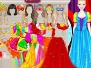 Play Barbie Masquerade Princess Dressup