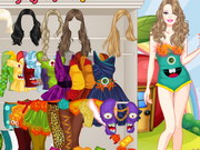 Play Barbie Monster Outfits Dress Up