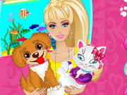 Play Barbie Pets Care
