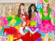 Barbie Royal Dress Up