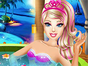 Play Barbie Superhero Beauty Spa