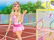 Play Barbie Tennis