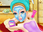 Play Bathing Spa Pregnant Queen