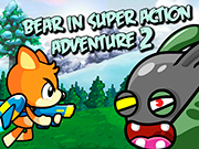 Play Bear in Super Action Adventure 2
