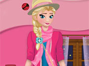 Beauty Elsa Dress Up
