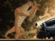 ベン10エイリアンフォース:スーパージャイアント強度Humungousaur