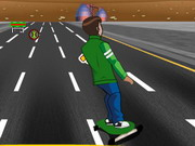 Play Ben 10 Highway Skateboarding