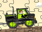 Play Ben 10 Truck Puzzle